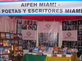 AIPEH Miami en el Miami Book Fair International 2012