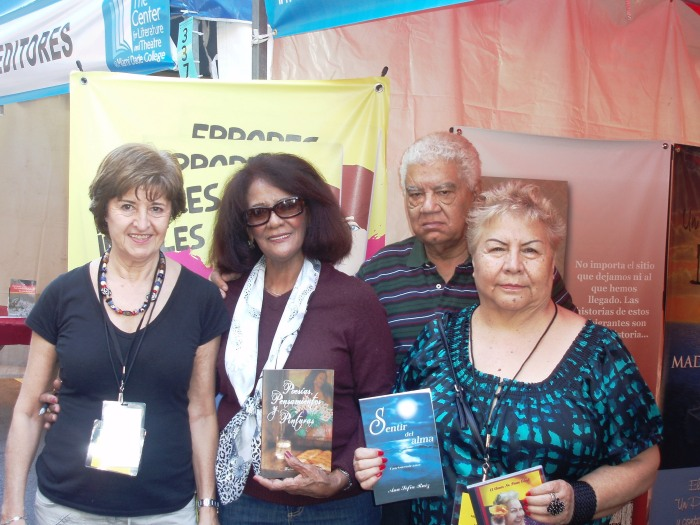 Isabel García Cintas, Matilde Peláez de Santana y esposo, Ana Sofía Ruiz
