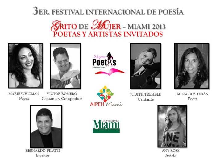 Artistas invitados festival