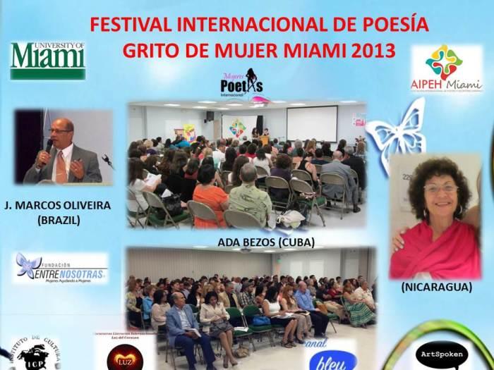 Grito de Mujer - Miami 2013