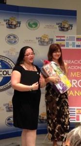 Anelith Ortega y Marybel Torres de La Nota Latina
