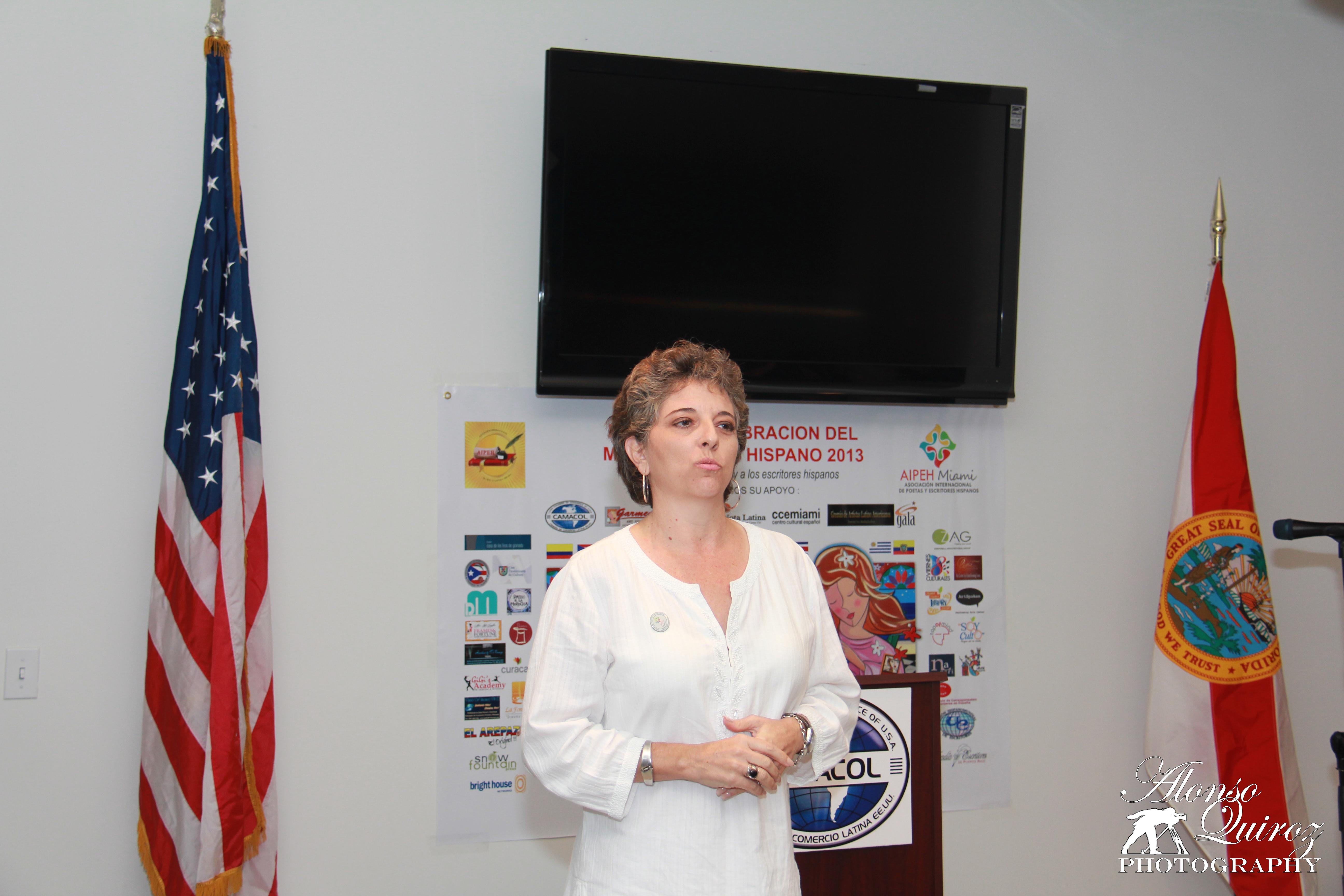 Patricia Gaviria, autora y conferencista. (Colombia)