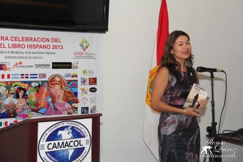 Patricia Echeverri, escritora colombiana.