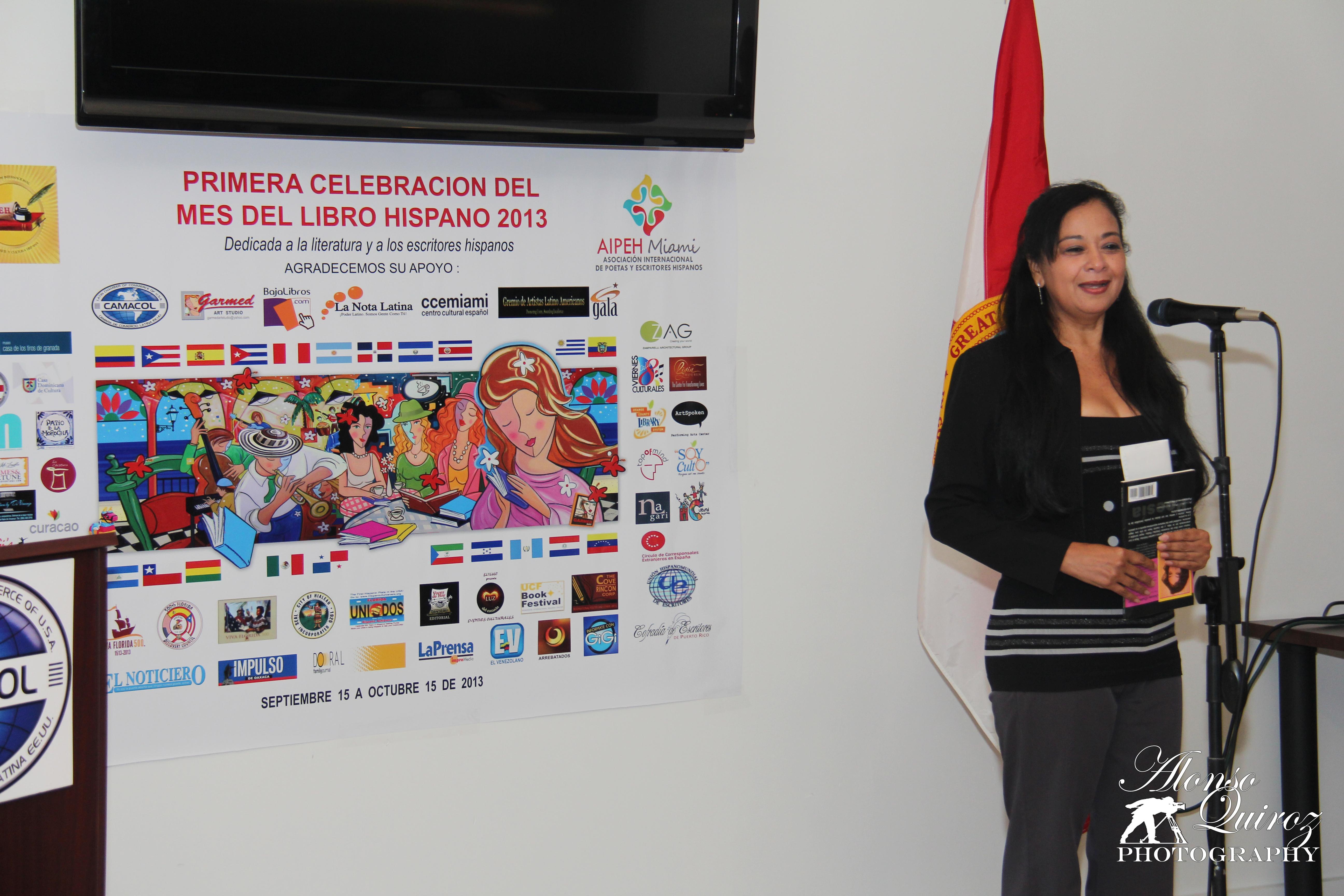 AZUCENA ORDOÑEZ, ESCRITORA (HONDURAS)