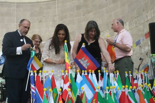 PILAR VELEZ - VIGILIA FOR PEACE AND ECOLOGY 2013