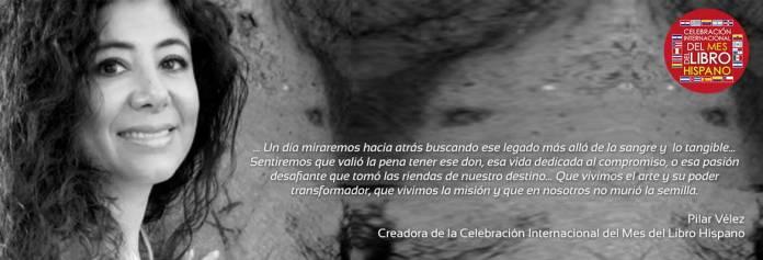 Pilar Velez - Creadora de Mi Libro Hispano