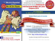 Inauguración Mi Libro Hispano 2014