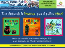 Maria Ana Reyes en el Miami International Book Fair