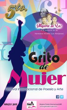 Flyer Grito de Mujer 2015