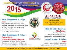 MILIBROHISPANO MES DE LA HISPANIDAD HIALEAH 2015